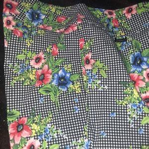 Multicolored  womens slacks size 10